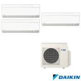 Ar Condicionado Daikin Advance com 1x9000+1x12000+1x18000 BTUs Quente e Frio - FTXS25KVM/FTXS35KVM/FTXS50KVM/3MXS68KVM