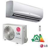 Ar Condicionado Split Hi-Wall LG Smart Inverter com 22.000 BTUs, Quente e Frio, Turbo, Branco - US-W242CSG3