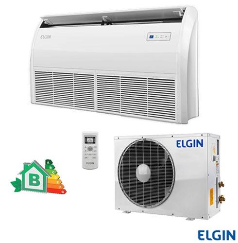 Ar Condicionado Split Elgin Piso Teto Eco com 36.000 BTUs Frio Branco - PEFI36B2NA/PEFE36B2NA, 220V, Branco, Split, 36.000 BTUs, Acima de 23.500 BTUs, Frio, 3345 W, B, 03 meses, Multi-Ar