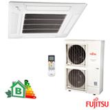 Ar Condicionado Split Fujitsu Cassete Inverter com 45.000 BTUs Quente e Frio Turbo Mode Branco - AUBG54LRLA