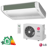 Ar Condicionado Split LG Teto Inverter com 24.000 BTUs, Frio, Branco - AV-Q24GJLA2
