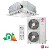 Ar Condicionado Split LG Cassete Inverter com 54.000 BTUs Frio Turbo Branco - AT-Q54GMLE5