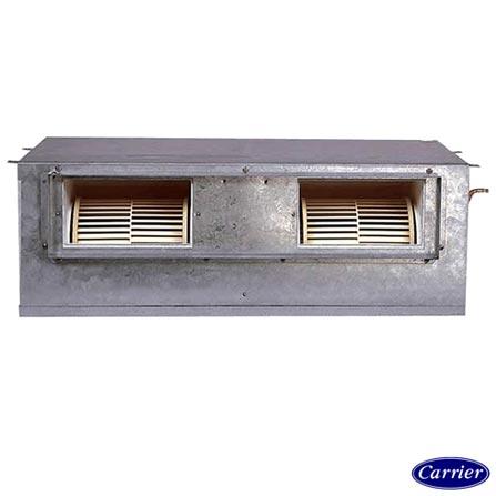 Ar Condicionado Split Carrier Built-in Versatile Heavy Duty com 48.000 BTUs Turbo Frio Cinza - 42BQA048510HC, 220V, Cinza, Split, 48.000 BTUs, Acima de 23.500 BTUs, Frio, 4628 W, E, 03 meses, Multi-Ar