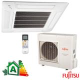 Ar Condicionado Split Fujitsu Cassete Inverter com 32.000 BTUs Quente e Frio Turbo Branco - AUBA36LCL