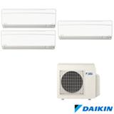 Ar Condicionado Multi Split Daikin Advance Inverter com 3 x 12.000 BTUs, Quente e Frio, Branco -  FTXS35KVM