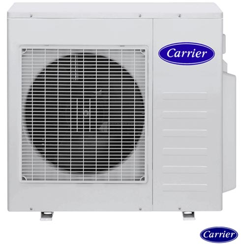 Ar Condicionado Multisplit Carrier Inverter com 4 x 12.000 BTUs Quente e Frio Turbo Branco - 42LVMA12C5/38LVMA36C5, 220V, Branco, Split, Quente e Frio, Não especificado, A, 03 meses, Multi-Ar