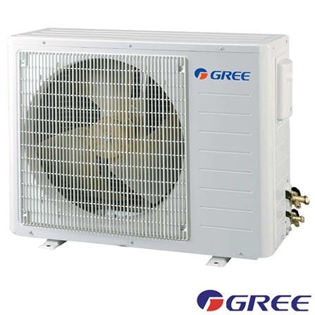 Ar Condicionado Split Gree Hi-Wall Garden com 12.000 BTUs Frio Turbo Branco - GWC12MB-D1NNA8F/I, 220V, Branco, Split, 12.000 BTUs, 12.000 a 18.500 BTUs, Frio, 1085 W, A, 03 meses, Multi-Ar