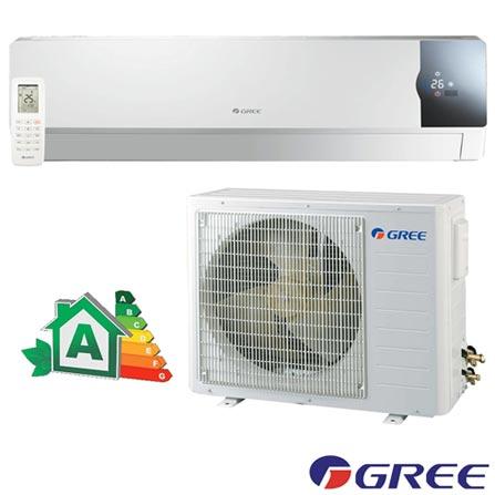 Ar Condicionado Split Gree Cozy Inverter com 22.000 BTUs Frio Turbo Branco - GWC24MD-D3DNC1F/I, 220V, Branco, Split, 22.000 BTUs, 19.000 a 23.500 BTUs, Frio, 1995 W, A, 03 meses, Multi-Ar