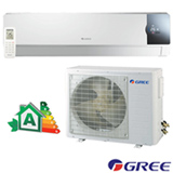 Ar Condicionado Split Gree Hi-Wall Cozy Inverter com 12.000 BTUs Frio Turbo Branco - GWC12MB-D3DNC1F/I