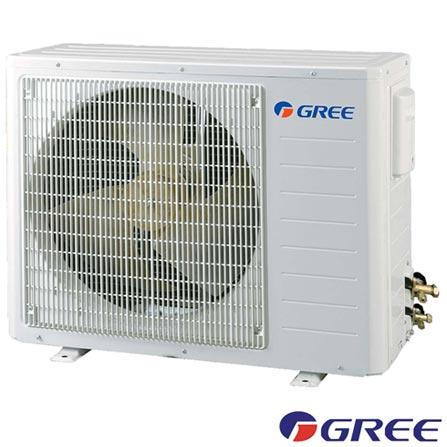 Ar Condicionado Split Hi-Wall Gree Garden com 24.000 BTUs, Turbo, Frio, Branco - GWC24ME-D1NNA8E, 220V, Branco, Split, 24.000 BTUs, Acima de 23.500 BTUs, Frio, 2170 W, 03 meses, Multi-Ar