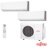Ar Condicionado Multi Split Fujitsu Inverter 1 x 7.000 + 1 x 9.000 BTUs, Quente e Frio, Turbo, Branco - ASBG07LMCA-BR