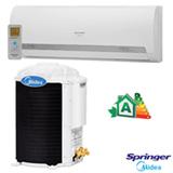 Ar Condicionado Split Hi-Wall Springer Midea com 12.000 BTUs, Quente e Frio, Turbo, Branco