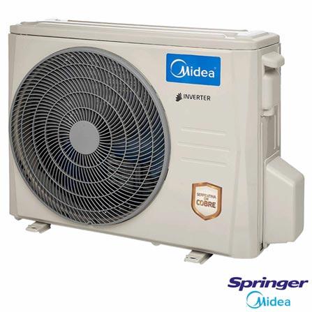 Ar Condicionado Split Hi-Wall Springer Midea Inverter com 24.000 BTUs, Frio, Turbo, Branco - 42MBCA24M5/38MBCA24M5, 220V, Não se aplica, Split, 24.000 BTUs, Acima de 23.500 BTUs, Frio, 2070 W, A, 03 meses, Multi-Ar