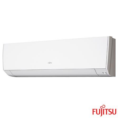 Ar Condicionado Multi Split Fujitsu Inverter com 1 x 7.000 + 2 x 12.000 BTUs, Quente e Frio, Turbo, Branco - ASBG07LMCA, 220V, Branco, Split, 7.000 BTUs, 5.000 a 8.500 BTUs, Quente e Frio, 2870 W e 2830 W, A, 12 meses, Multi-Ar