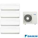 Ar Condicionado Multi Split Daikin Advance Inverter com 2 x 9.000 + 2 x 12.000 BTUs, Quente e Frio, Branco - FTXS25KVM