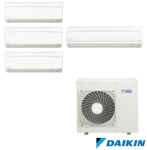 Ar Condicionado Multi Split Daikin Advance 1 x 9.000 + 2 x 12.000 + 1 x 18.000 BTUs, Quente e Frio, Branco - FTXS25KVM, 220V, Branco, Split, 9.000 BTUs, 9.000 a 11.500 BTUs, Quente e Frio, 2710 W e 2420 W, A, 03 meses, Multi-Ar