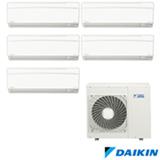 Ar Condicionado Multi Split Daikin Advance com 4 x 9.000 + 1 x 12.000 BTUs, Quente e Frio, Turbo, Branco - FTXS25KVM