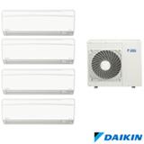 Ar Condicionado Multi Split Daikin Advance Inverter com 4 x 9.000 BTUs, Quente e Frio, Turbo Mode Branco - FTXS25KVM