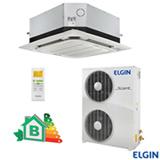 Ar Condicionado Split Cassete Elgin Eco com 60.000 BTUs, Frio, Turbo, Branco - KEFI60B2NA