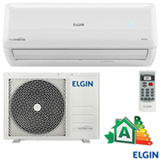 Ar Condicionado Split Hi-Wall Elgin Eco Inverter com 12.000 BTUs, Frio, Turbo, Branco