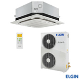 Ar Condicionado Split Cassete Elgin Eco 360° com 48.000 BTUs, Frio, Turbo Branco - KEFI48B2NC