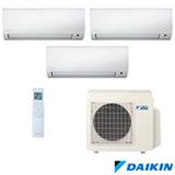 Ar Condicionado Multi Split Inverter Daikin com 3 x 9.000 BTUs, Quente e Frio, Turbo, Branco - CTXS09PMVM5/3MXS24PMVM