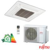 Ar Condicionado Split Cassete Fujitsu Compacto Inverter com 23.000 BTUs, Quente e Frio, Turbo, Branco - AUBA24LBL