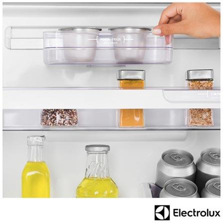 Refrigerador de 02 Portas Electrolux Frost Free com 382 Litros com Painel Eletrônico Branco – DF42, 110V, 220V, Branco, 12 meses, Electrolux