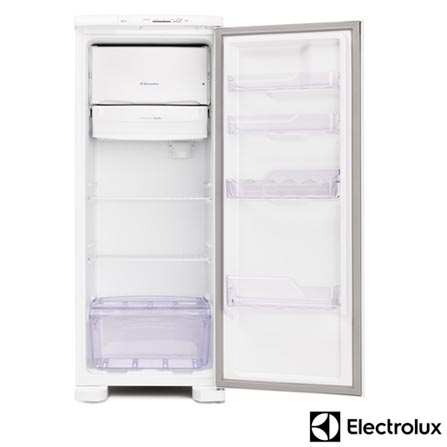 Refrigerador de 01 Porta Electrolux com 240 Litros com Gaveta Extrafria Branco - RE31, 110V, Branco, 01 Porta, 01 Porta, De 141 a 350 litros, 12 meses, Electrolux