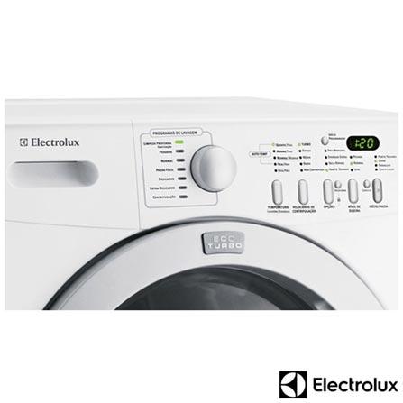 Lavadora de Roupa Electrolux Eco Turbo 12Kg com 7 Programas de Lavagem, Branca - TRW12, 110V, Branco, 12 meses, Acima de 10 kg, Lavadora de Roupas, Frontal, Electrolux