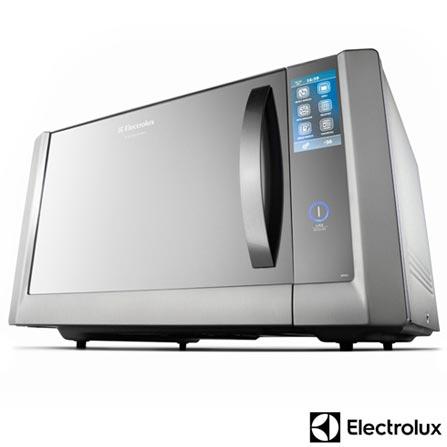 Micro-ondas Electrolux I-Kitchen com 43 Litros de Capacidade e Grill Inox - MTX52, 110V, Inox, Mesa, Acima de 30 litros, 12 meses, Electrolux