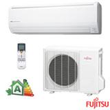 Ar Condicionado Split Hi-Wall Fujitsu Inverter com 24.000 BTUs, Turbo, Frio, Branco - ASBG24JFBC