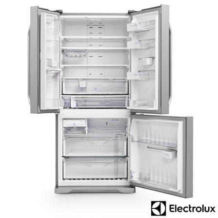 , 110V, 220V, Inox, French Door, 03 Portas, Acima de 500 litros, 12 meses, Electrolux
