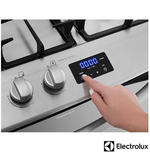 , 110V, 220V, Inox, 12 meses, Electrolux, Embutir, 05 Bocas, Não especificado
