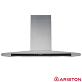 Coifa de Parede Ariston 90 cm com 03 Velocidades, Display Touch Control e Timer Digital Inox - HLC9-8 ATI X