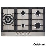 Cooktop a Gas Cuisinart Prime Cooking com 05 Bocas e Acendimento Automatico - PFA850SLTX-E