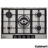 Cooktop a Gas Cuisinart Casual Cooking em Inox com 05 Bocas, Acendimento Automatico - P750STXL