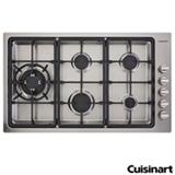 Cooktop a Gas Cuisinart Prime Cooking com 05 Bocas e Acendimento Automatico - PLF950SLTX-E