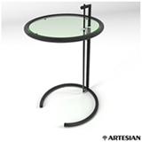 Mesa Lateral Coffee Table Preta - Eileen Gray