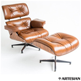 Poltrona Pau de Ferro com Caramelo - Lounge Chair