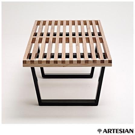 , Não se aplica, Aço inoxidável e madeira, Artesian, 03 meses