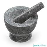Conjunto de Mortar e Pilão em Pedra - Jamie Oliver