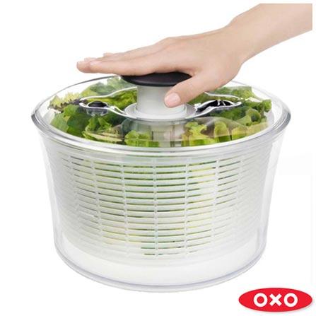 Lava e Seca Saladas Transparente - Oxo, Não se aplica, Spicy, Plástico, 01 Peça