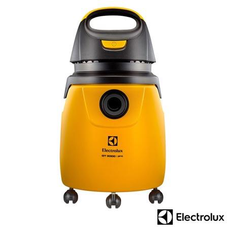 , 110V, 220V, Preto e Amarelo, 20 Litros, Pó e Água, 12 meses, Electrolux