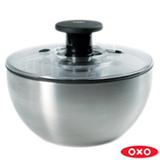 Lava e Seca Saladas em Aço Inox - Oxo
