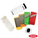 Kit de Raladores em Aço Inox com 7 Peças Colorido - Oxo