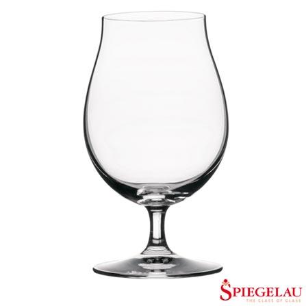 Conjunto de 4 Taças para Cerveja em Vidro Tulipa Beer Classics - Spiegelau, Não se aplica, Spicy, Vidro, 04 Peças