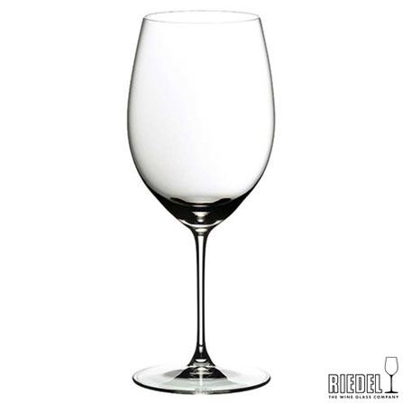 Conjunto de Taças para Vinho Cabernet Merlot em Vidro Cristalino com 2 Peças Veritas - Riedel, Não se aplica, Spicy, Vidro, 02 Peças