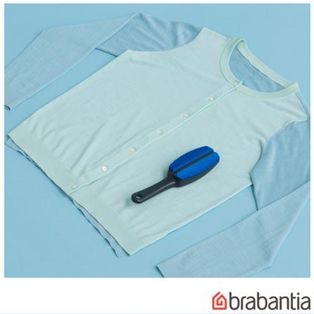 Escova para Roupas Removedora de Pelo Azul - Brabantia, Azul, Spicy, Poliéster