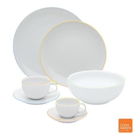 , Branco, Spicy, Porcelana, 20